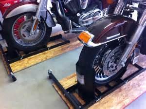 Trailer Tire Harbor Freight Harborfreight Chocks Setup Harley Davidson Forums