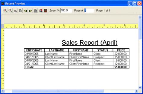 sles of reports print car sales reports