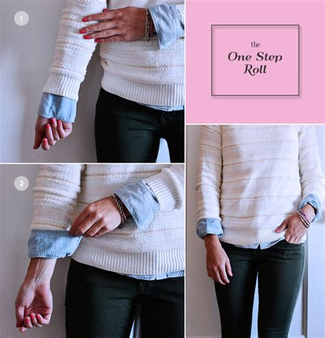Layered Sleeve Baju Lengan an idiot s guide to tuck roll cuff shirts and