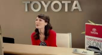 Who Is Jan On The Toyota Commercials Find Out Who Plays Jan In The Toyota Commercials Html