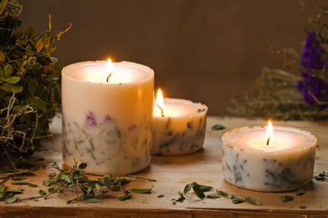 Handmade Wax Candles - home goods vvs approved