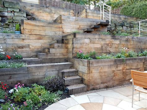 steep slope home designs steep slope garden designs garden designer staffordshire steep