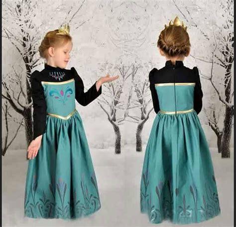 Baju Princess Elsa Anak koleksi baju anak perempuan umur 5 tahun terbaru