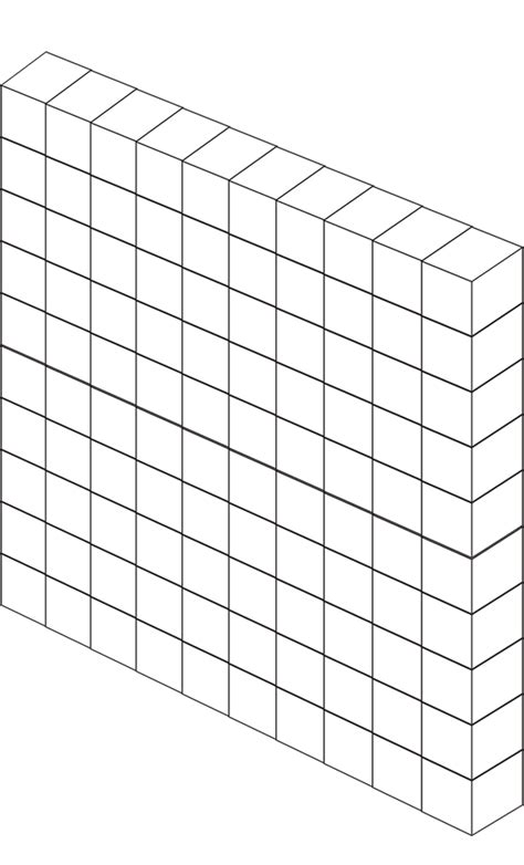 100Cube Free Base 10 Clipart