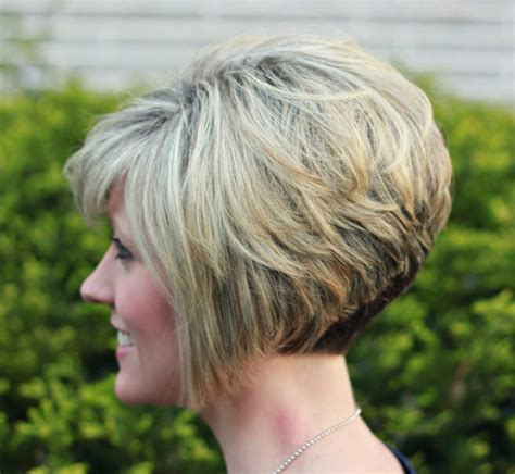 very short stacked bob back views very short stacked bob hairstyles hairstyles ideas