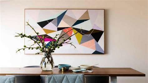 tableau abstrait moderne pour d 233 corer la salle 224 manger