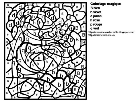 Coloriage Magique Grande Section Lettres Liberate