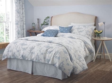 blue white toile designer bedding range garden of love ebay