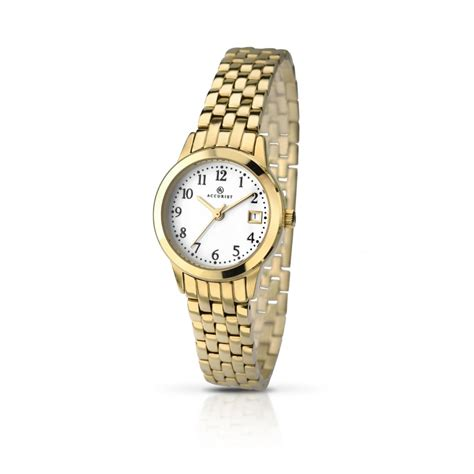 accurist gold 8046