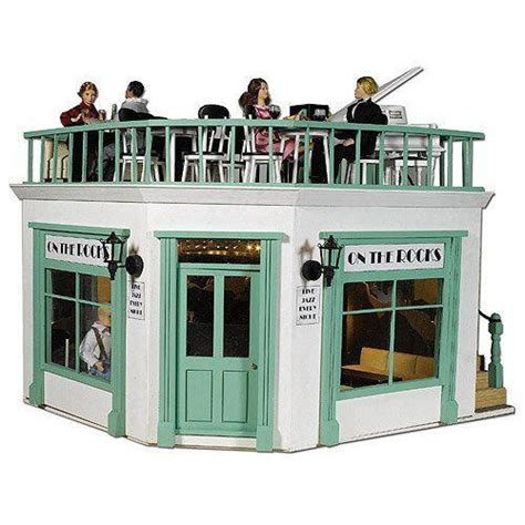 The Dolls House Emporium The Corner Shop Kit Part 1 Ground Floor Terrace