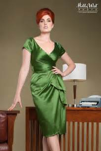 pinup clothing elegant wrap evening dress with