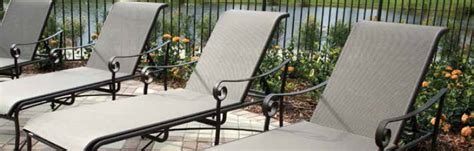 Backyard Creations Sling Chaise Lounge Tuscan Style Patio Furniture Modern Patio Outdoor