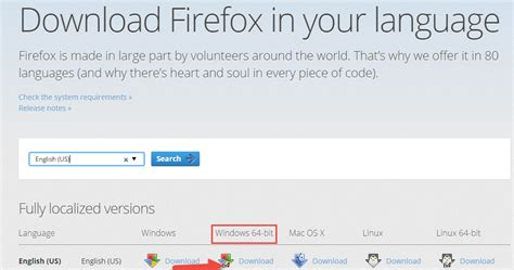 How to download 64-bit Firefox 43 for Windows? Install Firefox For Windows 10 64 Bit