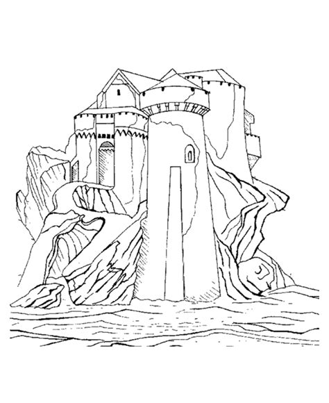 coloring pictures of knights and castles castles and knights coloring pages download and print for free