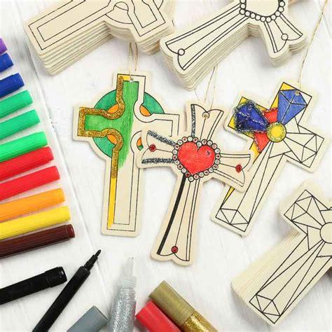wood craft kits for wood cutout cross kid s craft kit craft kits