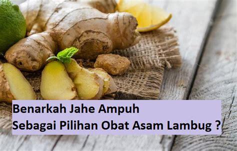 Obat Asam Lambung Jahe benarkah jahe uh sebagai pilihan obat asam lambug herbal
