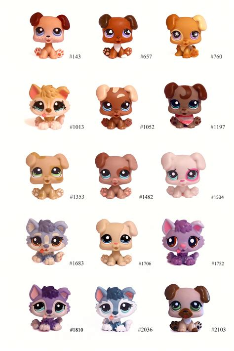 pet shop puppies s lps littlest pet shop pets puppy