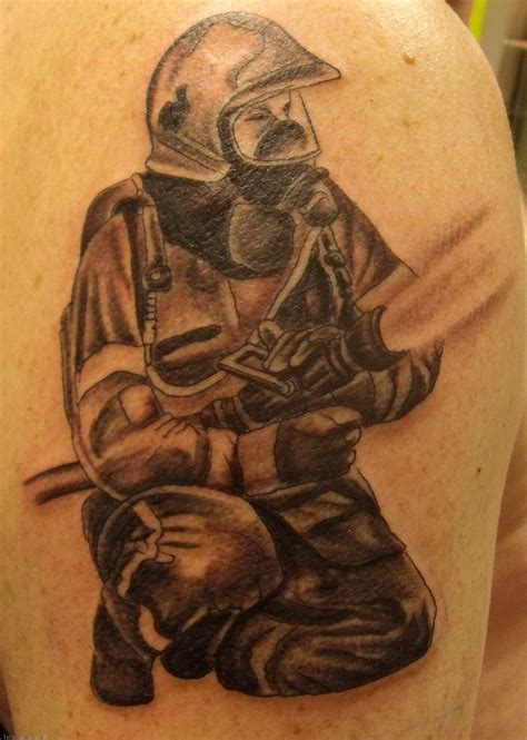 tattooed firefighter firefighter tattoos designs ideas and meaning tattoos