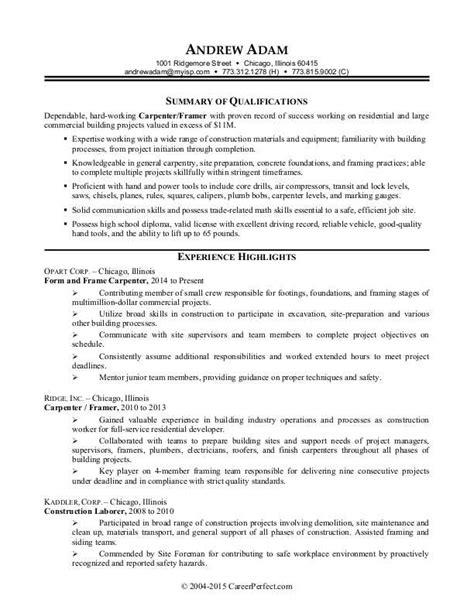 Construction Worker Resume Sample | Monster.com