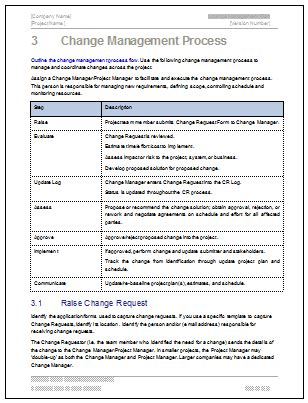 change management plan download ms word amp excel templates