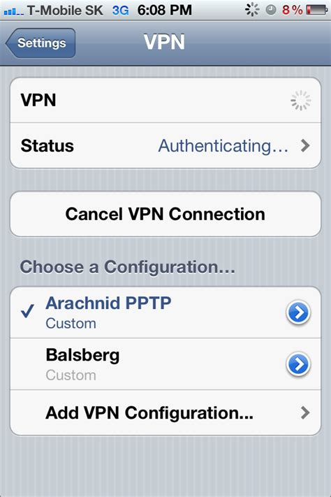 on iphone what is vpn access your home lan securely via from iphone