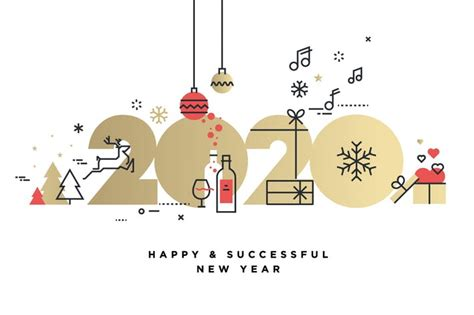 merry christmas  happy  year   puresolution  envato elements