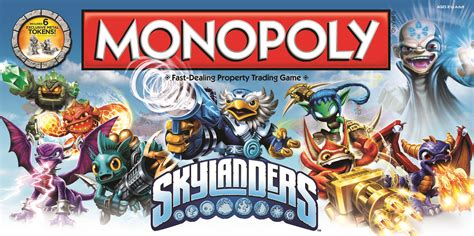 Kaos Nope Not Today skylanders monopoly the board apparently exists and