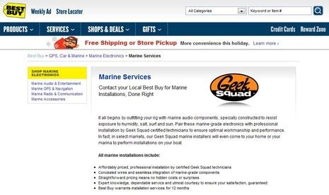 boat stereo best buy geek squad the biggest marine electronics installer panbo