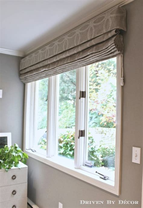 patterned fabric roman shades house tour guest room driven by decor