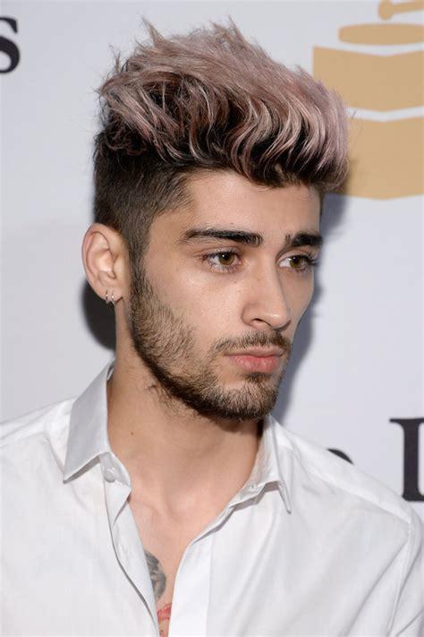 what is zayn maliks favorite color zayn malik shows brand new haircut