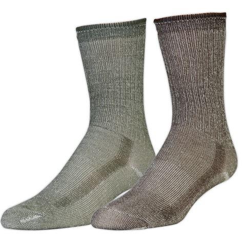 Merino Wool ems merino wool hiking socks 2 pack