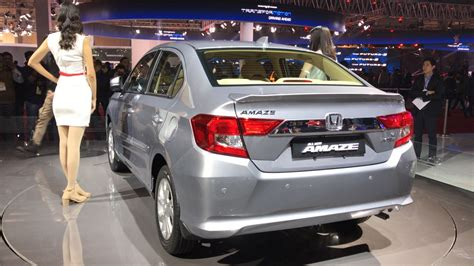 All New Honda Amaze Unveiled At Auto Expo 2018 Details