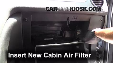 cabin filter replacement: buick enclave 2008 2012 2008