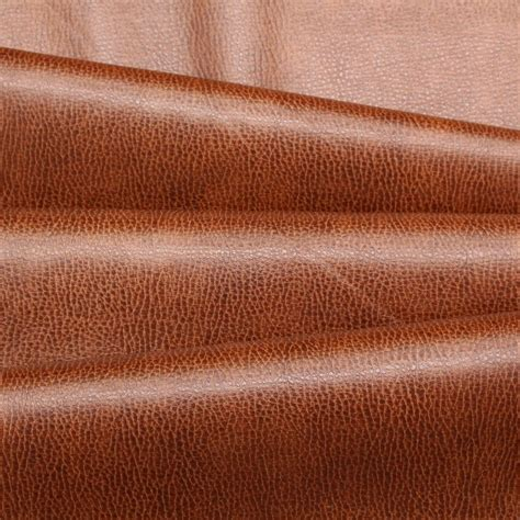 genuine leather upholstery fabric recycled textured grain eco genuine real leather hide