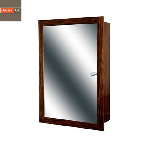 Origins Single Door Recessed Mirror Cabinet Uk Bathrooms Recessed Mirrored Bathroom Cabinets