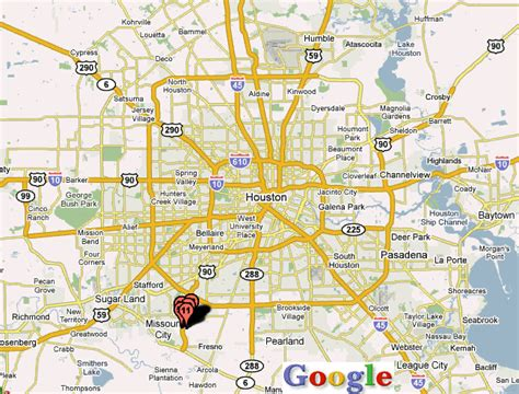 houston texas on a map houston hdtv map map pictures