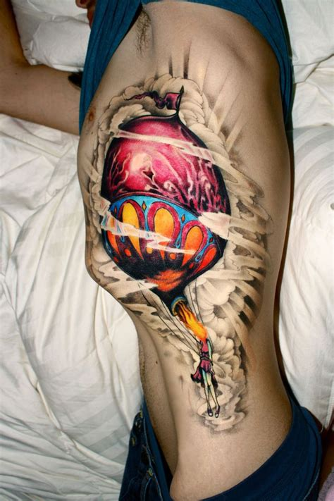 circa survive tattoo air balloon from circa survive album