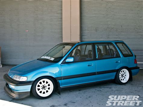 Bisimoto Honda Civic Wagon Sohc On This The Final