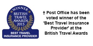 Post Office Travel Insurance by This Independent Company Awarded The Post Office As The