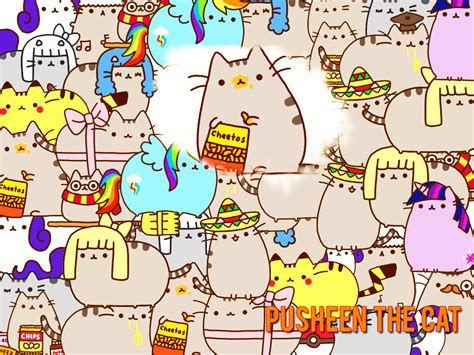 wallpaper pusheen cat pusheen the cat images pusheen cat hd wallpaper and