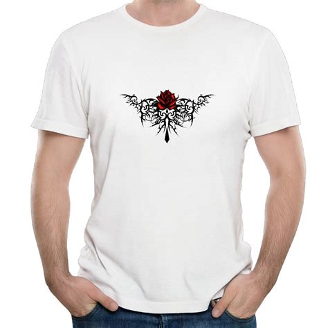 rose tattoo shirt tribal tattoos roses promotion shop for promotional tribal