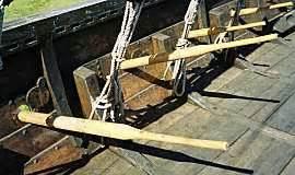 efficient boat oars hurstwic viking ships