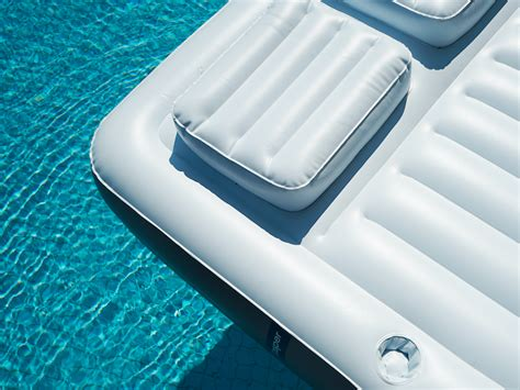 mattress in a pool mattress startup casper is beds that float in your