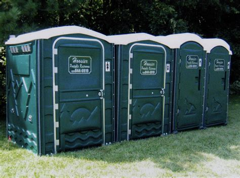 bathrooms for outdoor weddings indianapolis portable restrooms trailers showers indy