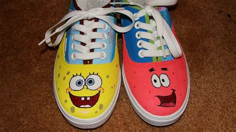 spongebob shoes image gallery spongebob shoes