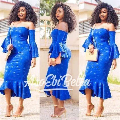 bella niger latest ankara volume ankara jeans fashion latest aso ebi styles bellanaija