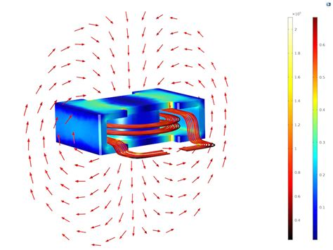 design of spiral inductor evaluate your 3d inductor design with comsol multiphysics comsol