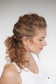 everyday curly hairstyles curly braided top knot hair romance everyday curly hairstyles curly braided