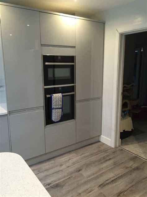 Modernes Wohnzimmer Ideen 4165 by Benchmarx Kitchen Larder Units And Neff Appliances New