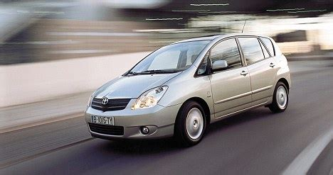 toyota family car top ten most reliable used family cars daily mail